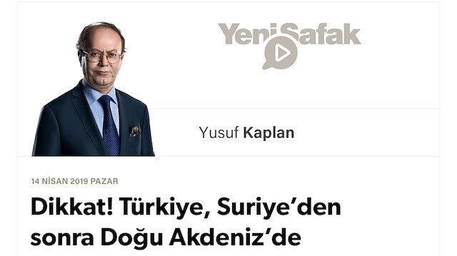 Dikkat! Türkiye, Suriye'den sonra Doğu Akdeniz'de karadan ve denizden kuşatılıyor!