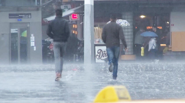 İstanbulda dolu sürprizi