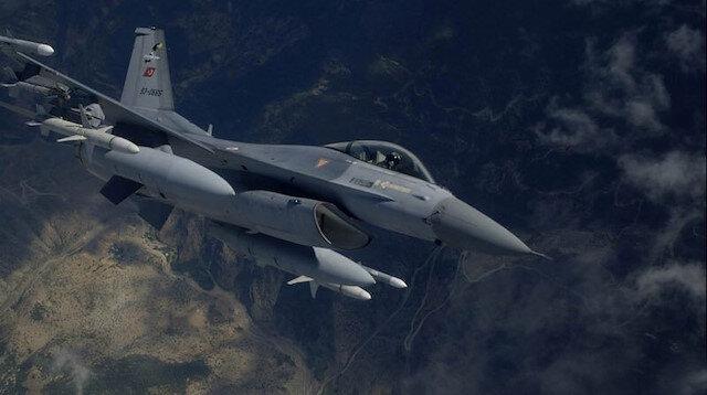 TSK tarafından, PKK hedeflerine hava operasyonu düzenlendi.