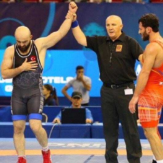 Turkish wrestler wins bronze in European championships