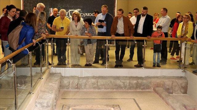 سفراء 20 دولة أوروبية يزورون معالم أثرية بولاية هطاي التركية