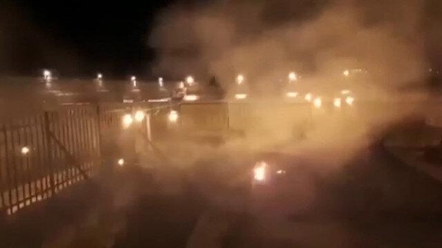 Mescid-i Aksada yangın