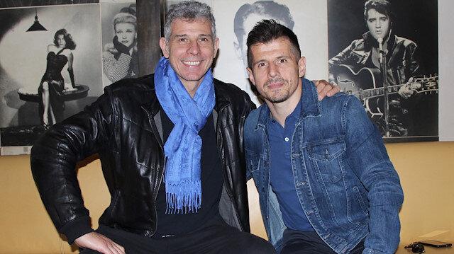 Emre Belözoğlu ile Toldo 14 yıl sonra buluştu