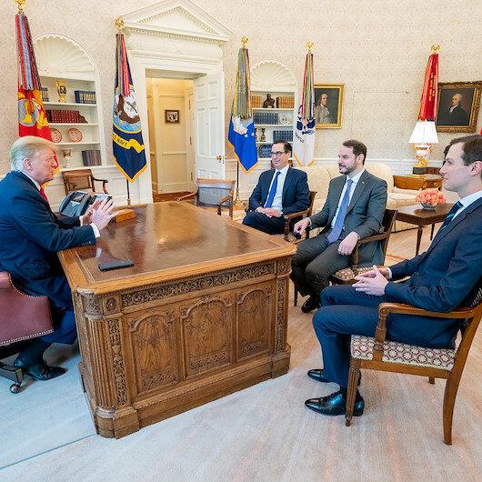 Bakan Berat Albayrak Trump ile görüştü