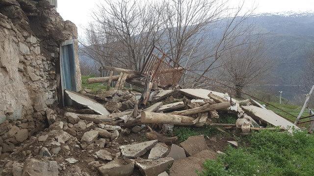 Daha önceki depremde maddi hasar meydana gelmişti.