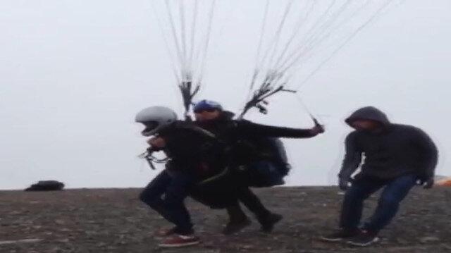 Paraşütçüler ölüme böyle gitti