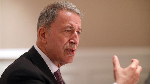 Turkish Defense Minister Hulusi Akar