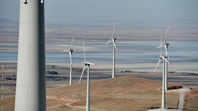 Rüzgar enerjisi santralleri.