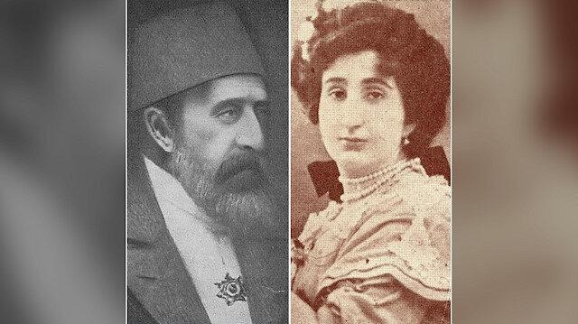 II. Abdülhamid Han ve kızı Şadiye Sultan