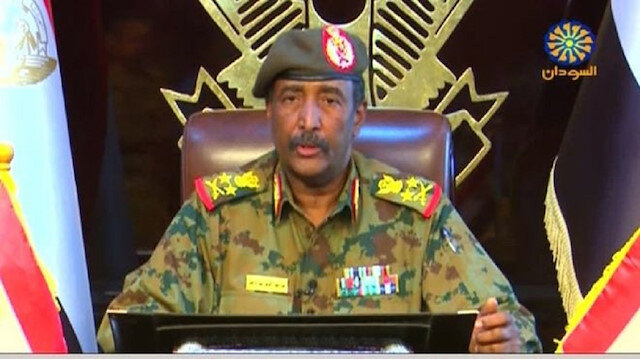 Abdel-Fattah Burhan, head of Sudan's ruling Military Transitional Council (MTC)