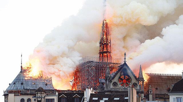 Notre Dame ağır yaralı