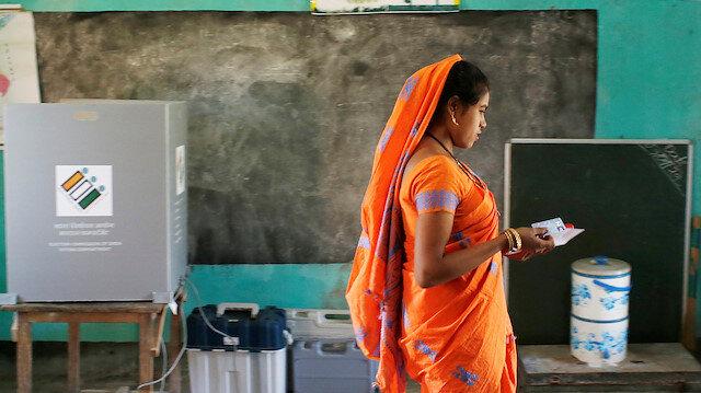 Hindistan'da seçimlerin ilk aşaması bitti