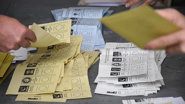 Arşiv: Oy sayımı