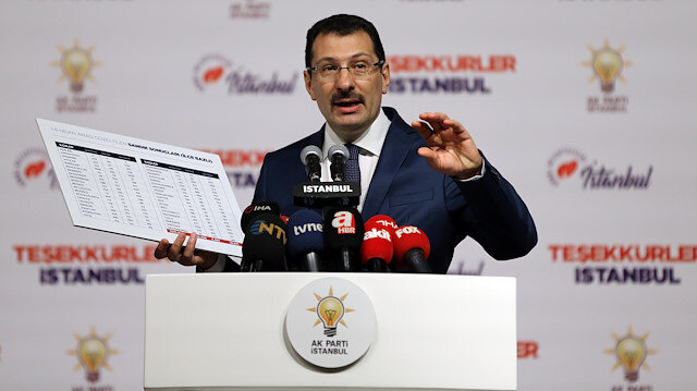 AK Parti'den İstanbul seçim itirazlarına ilişkin açıklama