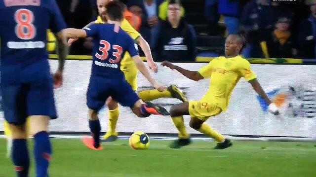 PSGnin Türk yıldız adayı ilk golünü attı