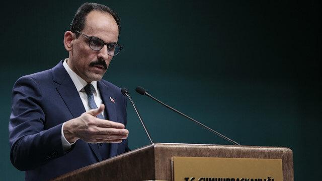 Turkish Presidential Spokesman Ibrahim Kalın