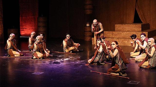 Başakşehirli Genç Yıldızlar Sahnede tiyatro festivalinde final heyecanı
