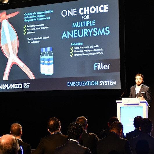 Londra'da düzenlenen uluslararası kongreye Türkiye'nin milli tıbbi cihazları damga vurdu