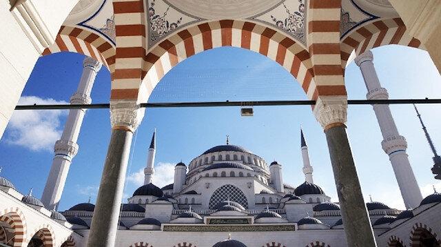 Çamlıca Camii'nin şifreleri