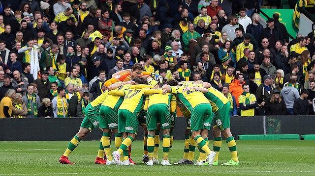 Norwich City Premier Lig'e koşuyor