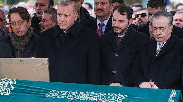 Cumhurbaşkanı Erdoğan Atalay Şahinoğlu'nun cenaze namazına katıldı