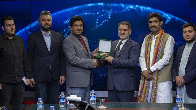 وفد مجلس الشباب الباكستاني يزور المديرية العامة للأناضول في أنقرة