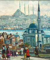 Türk ressamları geçidi