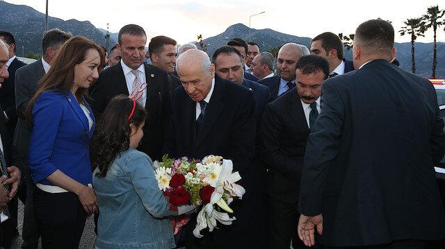 Bahçeli İl Başkanları Toplantısı için Antalya'da