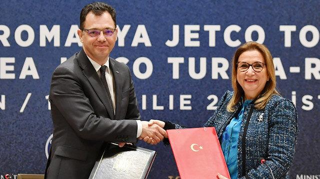 Pekcan: Yaklaşık 15 bin Türk iş adamının Romanya'da yatırımı var