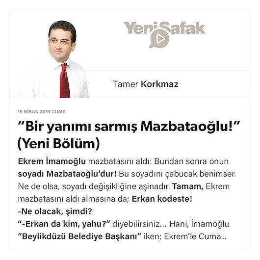 """""""Bir yanımı sarmış Mazbataoğlu!"""" (Yeni Bölüm)"""