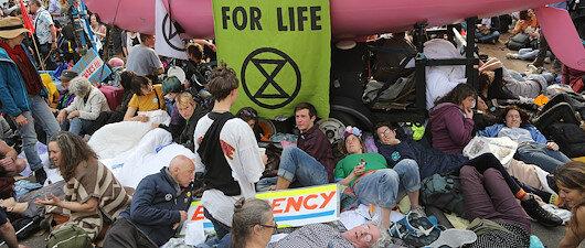Londra'da çevreci işgal
