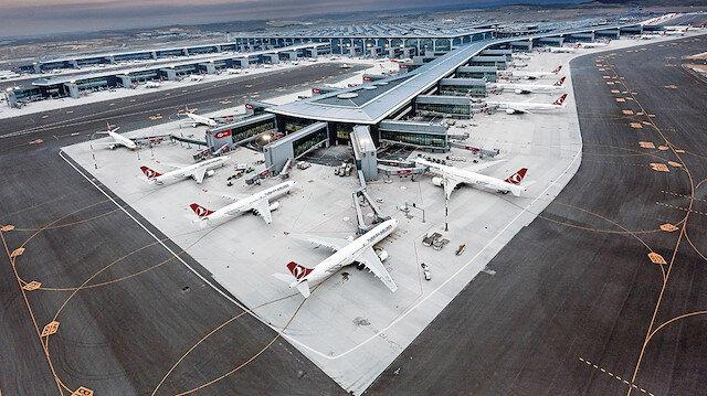 İstanbul Havalimanı merkez üs