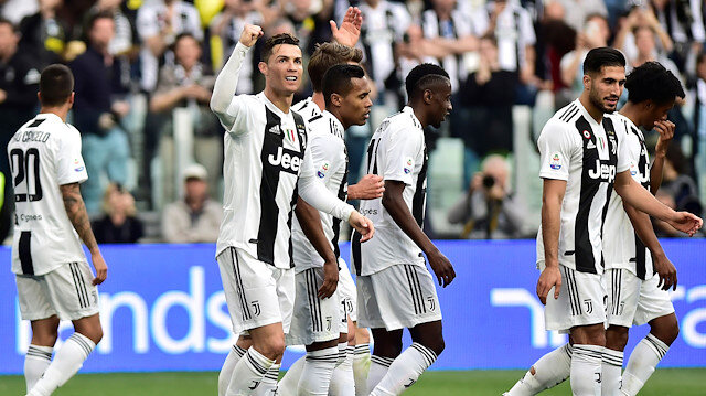 Juventus üst üste 8. kez Serie A şampiyonu