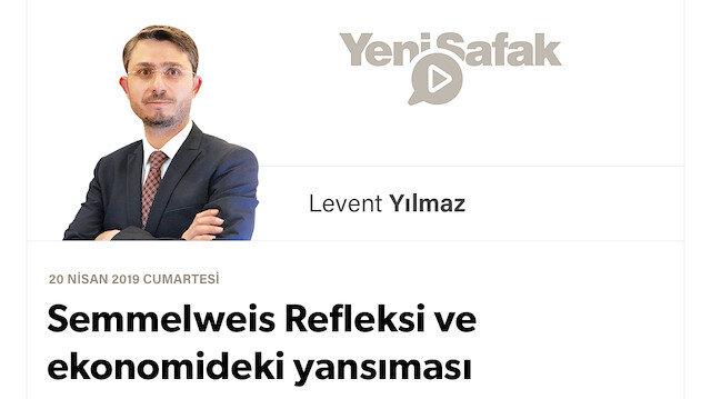 Semmelweis Refleksi ve ekonomideki yansıması