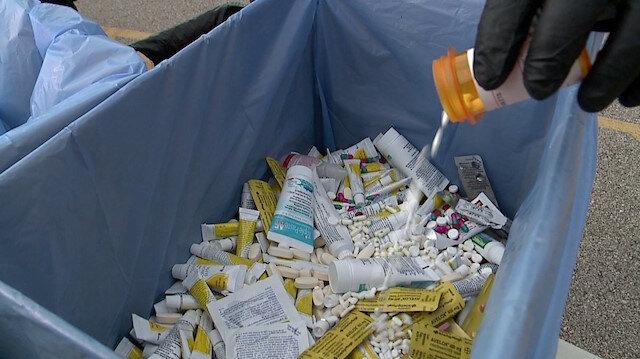Türkiye'de 362 bin kilo ilaç çöpe atılıyor