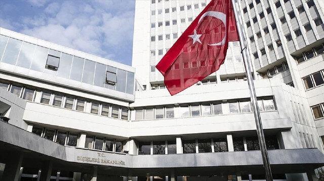 تركيا تدين استقبال ماكرون وفدًا من بي كا كا الإرهابية