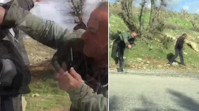 Kaçak elektrik kontrolüne giden DEDAŞ ekibine çirkin saldırı
