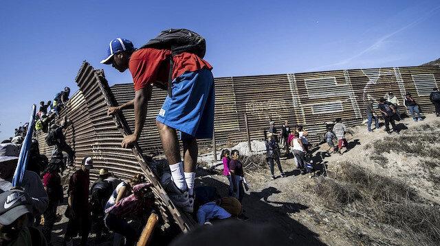 ABD-Meksika sınırındaki göçmenler için yeni tehlike