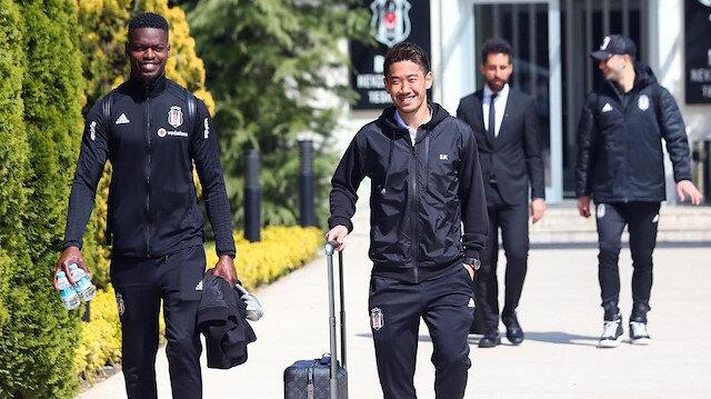 Beşiktaş'ta 3 futbolcu Sivas'a götürülmedi