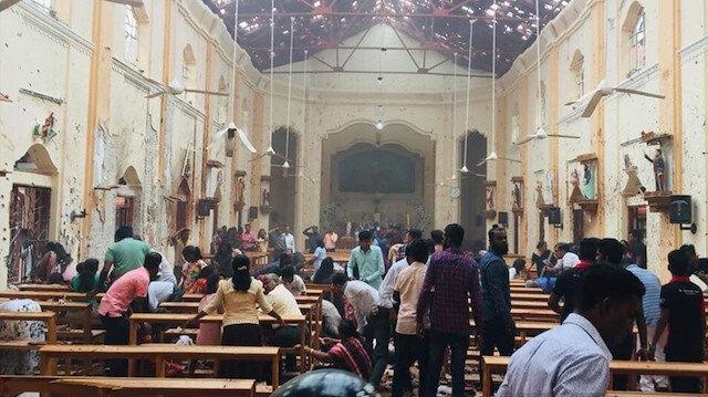 Sri Lanka'da terör saldırısı: 2'si Türk 290 ölü 500'den fazla yaralı