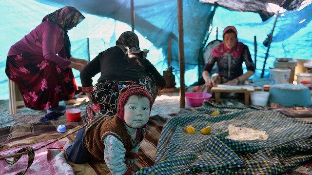 Yörüklerin zorlu yaşantısı: Güçlü aile bağlarıyla aşıyorlar