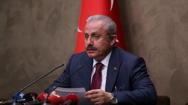 رئيس البرلمان التركي: نأمل من العراق عدم توفير ملاذ لـ