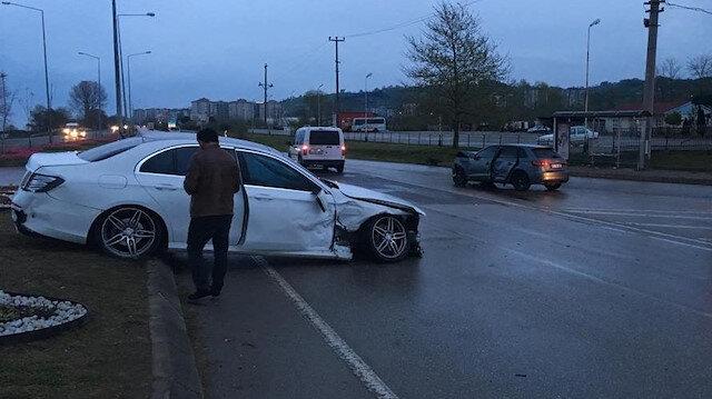 Trabzonsporlu Türkmen kaza yaptı
