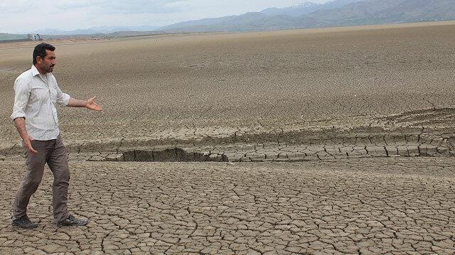 Söz konusu bölgenin kuraklık dönemlerinden bir fotoğraf.