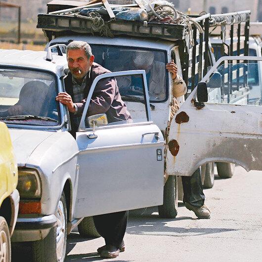 Suriye'de hayat durdu