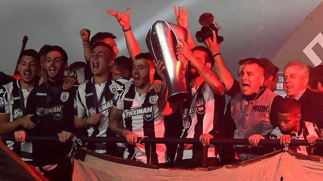PAOK 34 yıl sonra şampiyon
