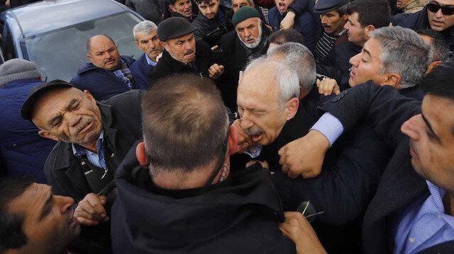 Kılıçdaroğlu'na yumruk atan kişi gözaltına alındı