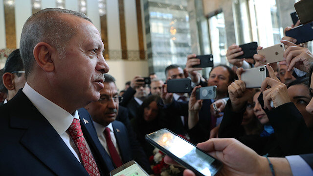 Erdoğan'dan HDP'lilere İstiklal Marşı tepkisi