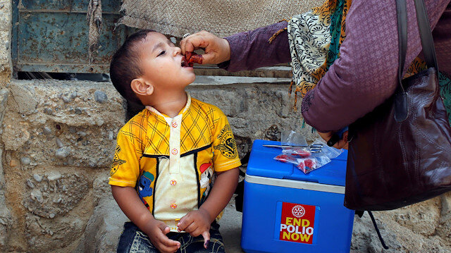 Two new polio cases reported in Pakistan