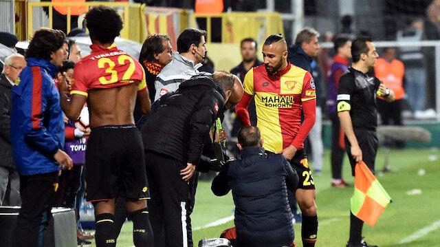Göztepe'de Başakşehir maçı öncesinde sakatlık şoku